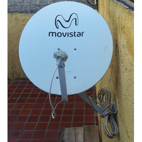 Kit Antena 2 Decodificadores + 2 Control Movistar + Cable