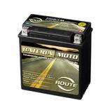 Bateria Moto Route Ytx12la-bs Virago 250 Gs500 Kansas 250