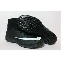 Chuteira Society Botinha Mercurial Nike Do Cr7 Boa E Barata