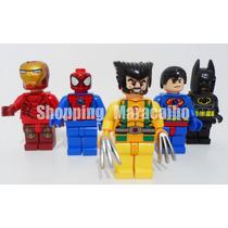 Lego Avengers Super Heroes Con Luz De 7.5 Cm *tienda Física*