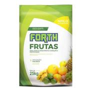 Fertilizante Adubo Para Frutas Forth 25kg