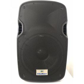 Caixa Som Ativa Amplificada Haikan 120w Rms Microfone S/ Fio