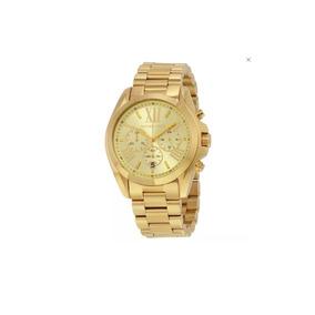 Reloj Michael Kors Mk Original Con Garantia Dorado Mk 5605