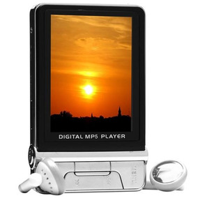 Mp5 Player Fm 5 Em 1 Músicas Vídeos Gravador De Voz Camera