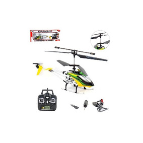 Helicoptero Radio Frequencia Drake W5 Giro E Luz Grande Reca