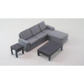 Muebles miniaturas para maquetas en mercado libre m xico for Muebles a escala 1 50 para planos