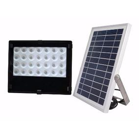 Lampara Solar Led Con Panel Solar Exteriores Y Jardin 28 Led