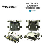 Pin Puerto De Carga Blackberry 9800 9810 Original
