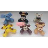Aplique Mickey Safari De Biscuit 30 Unidades