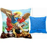 San Miguel Arcángel Almohada De Oracion Almohada De Oración