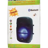 Bafle Amplificado 8 Pulgadas Bluetooth Recargable Usb Sd Fm