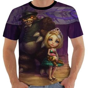 Camiseta 7659 League Of Legends Annie Rainha Do Baile