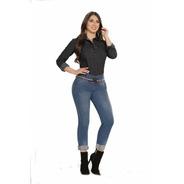Camisa En Jean Mujer Gran Jeans Manga Larga