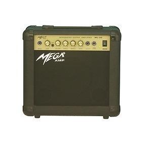 Ritmus : Mega Ml-20 : Amplificador De Guitarra 15w Overdrive