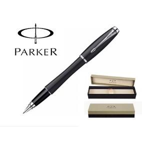 Caneta Parker Tinteiro Urban Black Fosco / Original /