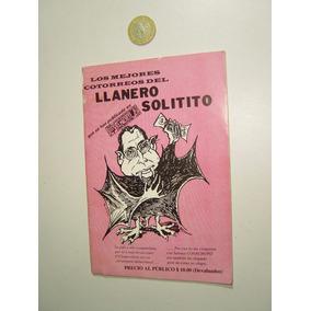Revista Política Caricatura El Llanero Solitito 1998