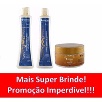 Kit Shampoo + Condicionador + Mascara Sos Midori + Brinde