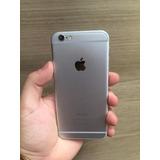 Iphone 6 64gb 4g Preto / Cinza Spacial Garantia Apple 01 Ano