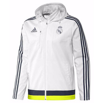 Campera Adidas Real Madrid Jacket Travel Oficial Rm