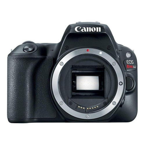 Canon EOS Rebel SL2 DSLR cor preto