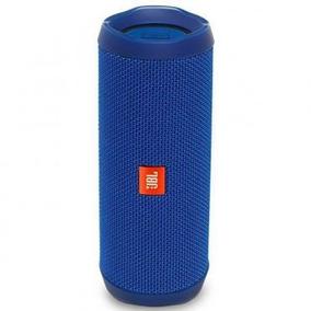 Cx. Portatil Jbl Flip 4 Azul - Som Perfeito - Original Jbl