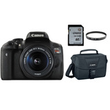 Canon Eos T6i 18-55 Is Stm + Filtro Uv + 16gb + Bolso