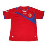 Camiseta De Futbol - Costa Rica - Original - L - Lotto 3a7444eeb93fc