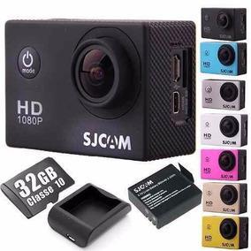 Sjcam Sj4000 Original Camera Kit + 32gb+ Bateria+ Carregador