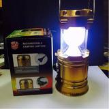 Lampião Solar Led Lanterna Elétrica Recarregavel Menor 5700