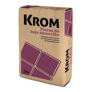 Adhesivo Krom Baja Absorción Porcellanato 30kg Klaukol