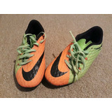Zapato De Futbol Marca Nike Hypervenom Para Niño