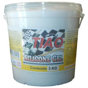 Silicone Em Gel,balde Com 3 Kg, Otimo Para Seu Painel