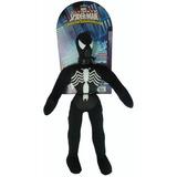 Muñeco Soft De Tela Spiderman Negro C/ Sonido Newtoys