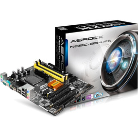 Placa Mãe Am2+ Am3 Asrock N68c Gs4 Fx Ddr2 Ddr3 Proc. Amd