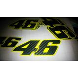 Calco Moto Gp Tunning Valentino Rossi 46. Simil Carbono