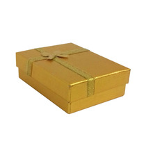 Caixa Convite Padrinhos Lembrança Casamento 15 Anos Dourada