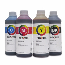 Tinta Corante Profeel Impressora Epson Kit 4litros E0014