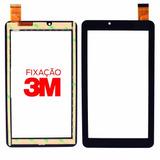 Tela Vidro Touch Tablet Dl X Quad Pro Tx328bra Tx328 + 3m