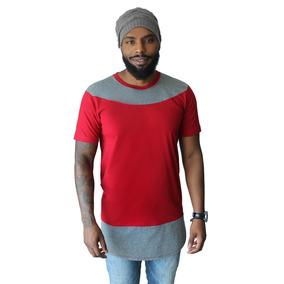 Camiseta Oversized Plus Size Longline Camisa Masculina Blusa