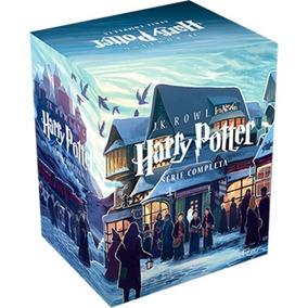 Box Harry Potter - Caixa Com 7 Livros Lacrado!!!