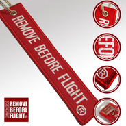 Llavero  Motociclismo Remove Before Flight Original