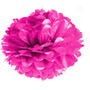 Enfeite Bola De Papel Crepom 2 Un. Pink Para Festa Junina