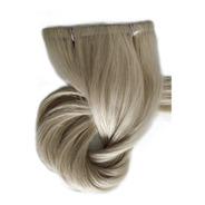 Cabelo Humano Loiro Claro Fita Adesiva 50g 70cm Mega Hair