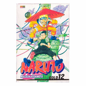Naruto Manga Gold 12 Masashi Hq Panini Português Lacrado