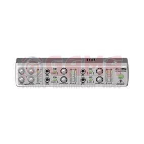 Amplificador Auriculares 4ch Minimix Amp800 Behringer 3002
