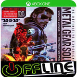 Metal Gear Solid V The Definitive - Xbox One - Off-line