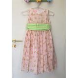 Vestido Infantil Festa Florido Tam.6 - Lindo !!!