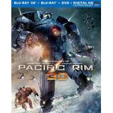Blu-ray Pacific Rim 3d / Titanes Del Pacifico 3d + 2d + Dvd