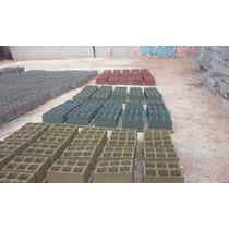 Bloco De Concreto Colorido 14x19x39 * Produto Exclusivo *