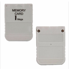 Memory Card Playstation 1 Ps1 Psone Psx Novo 1 Mb